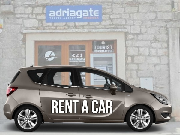 Autovermietung  Rent a car Trogir