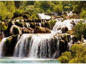 Krka-Waterfalls-and-Old-town-Sibenik